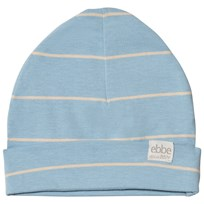 ebbe Kids Storm Beanie Mössa Soft Denim/Sand Stripe Soft denim/sand stripe