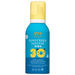 EVY Technology Mousse SPF 30 150 ml For Kids Blå