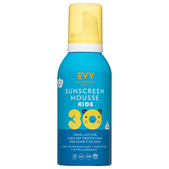 EVY Technology Mousse SPF 30 150 ml For Kids Blå Blue