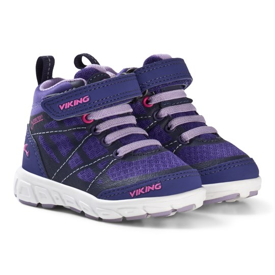 Viking GORE-TEX® Mid Sneakers Lila/Lavendel Purple