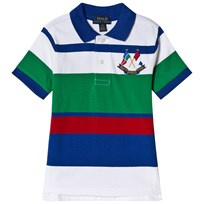 Ralph Lauren Multicolor Crossed Flags Logo Polo 001