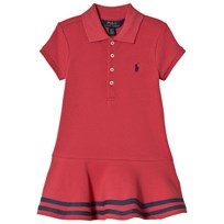 Ralph Lauren Striped Mesh Polo Dress Summer Navy 001
