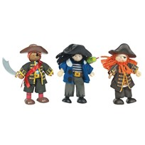 Le Toy Van Budkins® Buccaneers Triple Pack Multi