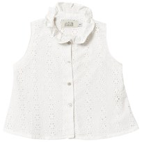 Anïve For The Minors Sleeveless Blouse, Made In Sweden white White