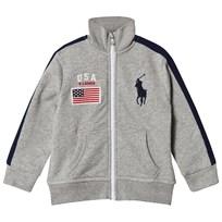 Ralph Lauren Grey USA Track Jacket 001