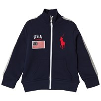 Ralph Lauren Navy USA Track Jacket 002