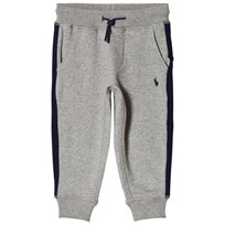 Ralph Lauren Side Stripe Sweatpants Grey Heather 001