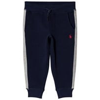 Ralph Lauren Side Stripe Sweatpants Navy 002