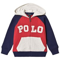 Ralph Lauren Red, Blue and White Polo Hoodie 001