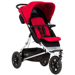Mountain Buggy Plus One Stroller Red