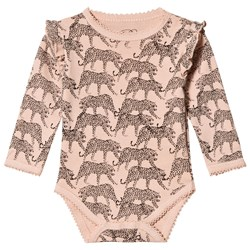 Petit by Sofie Schnoor Long Sleeve Baby Body Cameo Rose