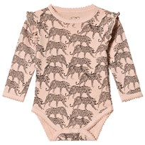 Petit by Sofie Schnoor Long Sleeve Baby Body Cameo Rose Cameo Rose