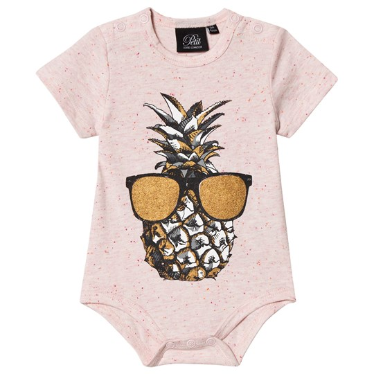 Petit by Sofie Schnoor Short Sleeve Baby Body Cameo Rose Cameo Rose
