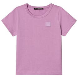 Acne Studios Mini Nash Face Tee Lilac Purple