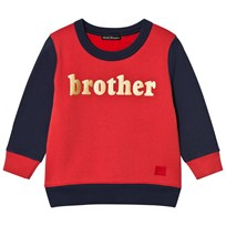 Acne Studios FA-MI Sweater Red/Navy Red/navy