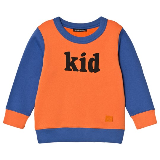 Acne Studios FA-MI Sweater Orange/Blue Lilla