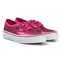 Vans Authebtuc Glitter Junior Shoes Rosy (Glitter) rosy