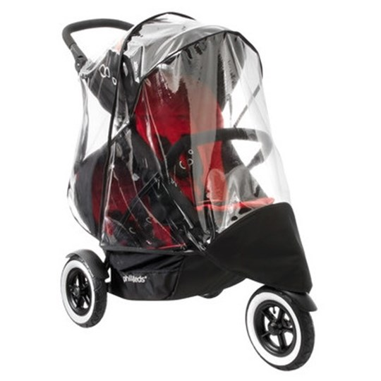 Phil and Teds Dot Buggy Single-to-Double Storm Cover Multi