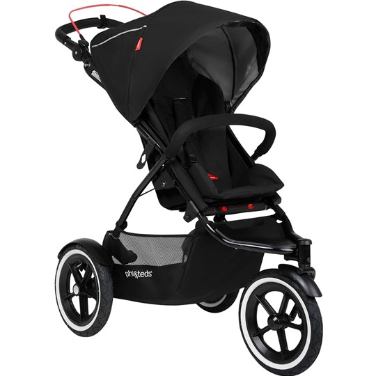 Phil and Teds Sport Stroller Black Black