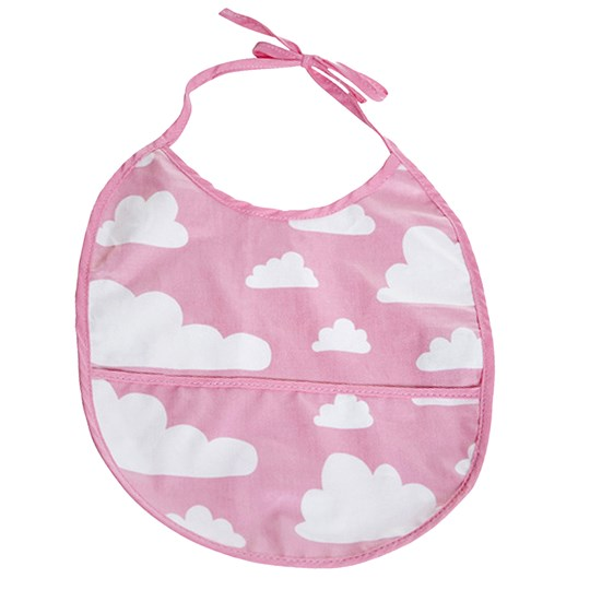 Färg & Form Cloud Bib Pink Pink