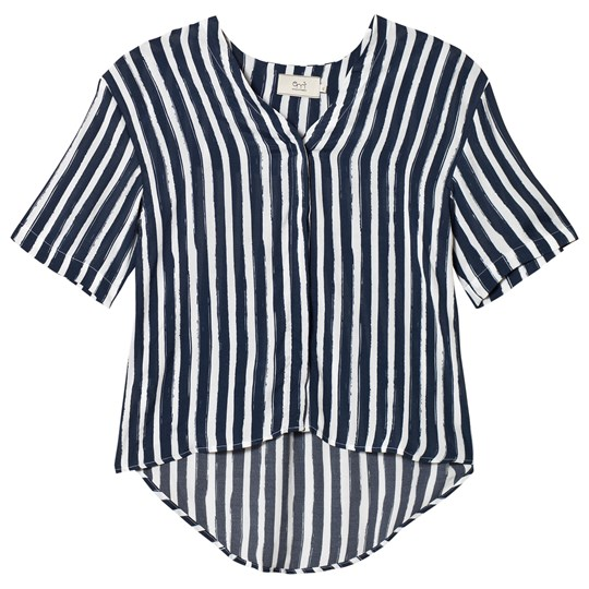 Emma och Malena Maternity Brita Blouse Stripe Brush Stripe Brush