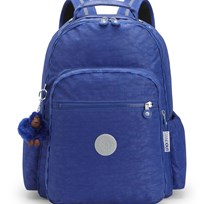 Kipling Blue Seoul Go Backpack with Laptop Protection 27B