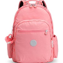 Kipling Pink Seoul Go Backpack with Laptop Protection 27F