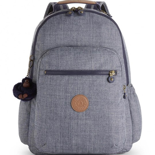 Kipling Seoul Go Backpack Craft Navy 41T