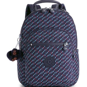 Image of Kipling Seoul Go S Backpack Blue Dash (3031534317)