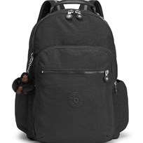 Kipling Black Seoul Go Backpack with Laptop Protection J99