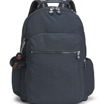 Kipling Navy Seoul Go Backpack with Laptop Protection 20L
