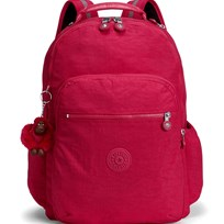 Kipling Pink Seoul Go Backpack with Laptop Protection 09F