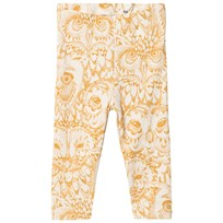 Soft Gallery LIMITED EDITION Paula Baby Leggings Golden Glow Owl Cream