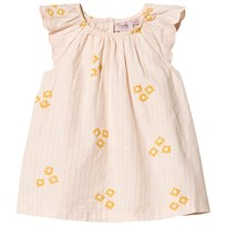 Noa Noa Miniature Short Sleeve Baby Dress Peachy Keen Peachy Keen