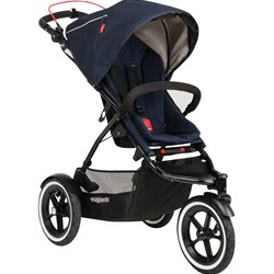 Phil and Teds Sport Stroller Midnight Blue