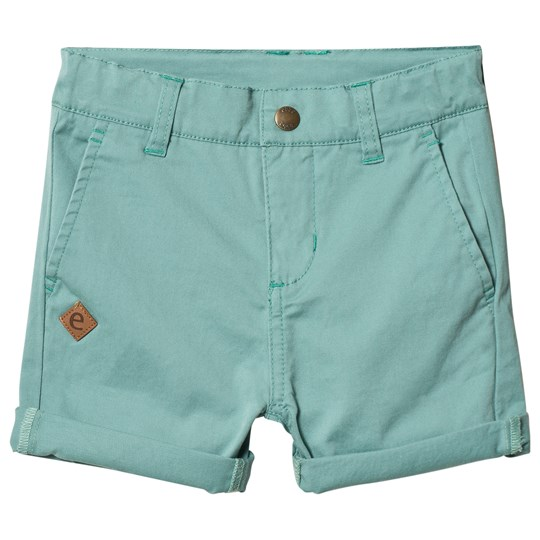 ebbe Kids Florin Chinos Shorts Dusty Turkos Dusty Turquoise