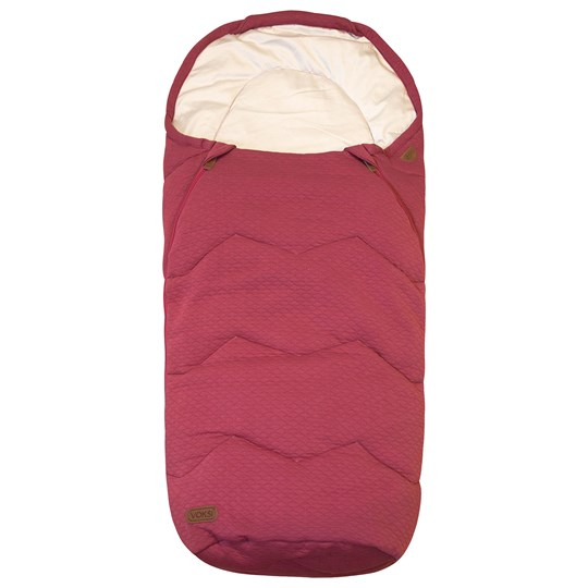 Voksi Breeze Light Footmuff Earth Red Earth Red