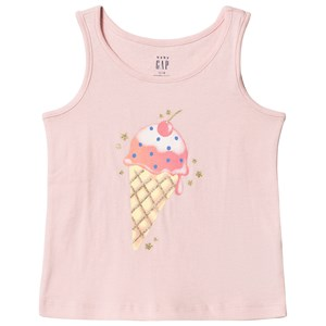 Image of GAP Pink Ice Cream Tank Top 18-24 mdr (3031530611)