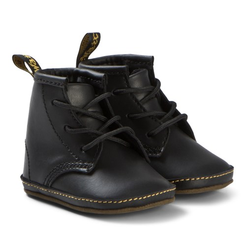 Dr. Martens - Crib Lace Booties Black
