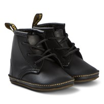 Dr. Martens Crib Lace Booties Black Black