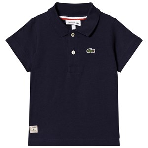 Image of Lacoste Navy Ribbed Collar Polo 1 year (3031533161)