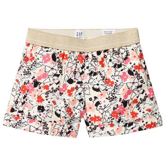 GAP French Vanilla Print Pull-On Shorts FRENCH VANILLA