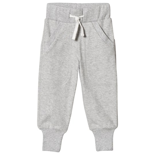 Geggamoja Classic Long Pants Light Grey Melange Light grey mel