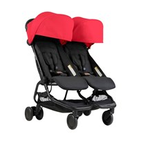 Mountain Buggy Nano Duo Stroller Ruby 2018 Ruby