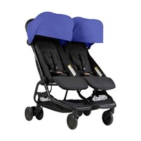 Mountain Buggy Nano Duo Stroller Nautical 2018 Nautical