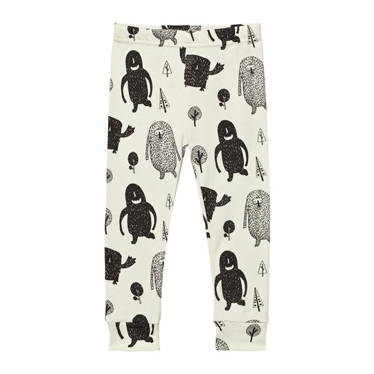 Tobias & The Bear White Monster Squad Leggings White