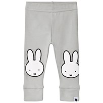 Tobias & The Bear Grey Miffy Face Graphic Leggings Putty Grey
