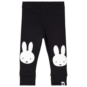 Image of Tobias & The Bear Black Miffy Face Graphic Leggings 0-6 months (3056059973)