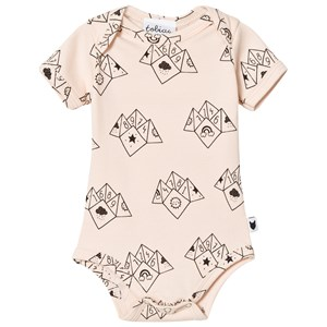 Image of Tobias & The Bear Peach Fortune Teller Print Baby Body 0-3 months (1109512)