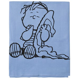 Image of Tobias & The Bear Blue Linus Knitted Blanket One Size (1096565)
